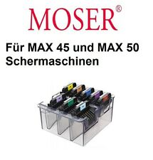 Peines De Metal de acero inoxidable para MOSER Esquiladora MAX 45 + MAX 50