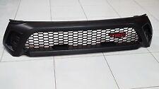 TOYOTA HILUX REVO SR5 M70 M80 2015-17 FRONT GRILLE MATTE BLACK TRD STYLE