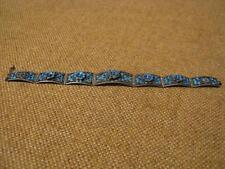 altes ausgefallenes Armband mit Emaile / 925er Silber (Fach 138)