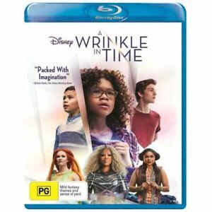 A WRINKLE IN TIME (2018) Region B [Blu-Ray] Oprah Winfrey Mindy Kipling Disney