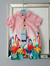 Ted baker baby boys flamingo print romper All-in-one 0-3 m Designer new