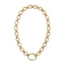 Exquisite Yossi Harari Rachel Diamond Link 24k Yellow Gold Necklace | JH
