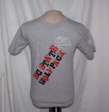 New NORTH CAROLINA STATE NC STATE WOLFPACK NCAA Youth Medium SOFFE S/S TEE Gray