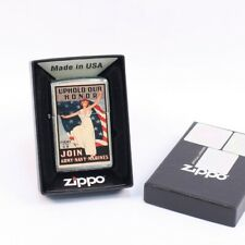 More details for army navy marines recruiting poster zippo lighter al281