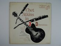 Chet Atkins In Three Dimensions Vinyl LP Record Album MONO LPM-1197