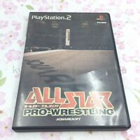 USED PS2 All-Star Pro Wrestling PlayStation2 08032 JAPAN IMPORT