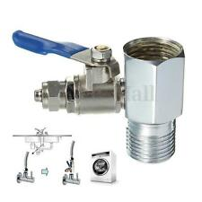 1/2'' to 1/4'' RO Feed Water Adapter Ball Valve Faucet Tap Feed Reverse Osmosis