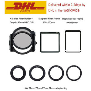 H&Y 100mm Filter Holder Kit ( Filter Holder +CPL+Magnetic Filter Frame 100mmx2 )
