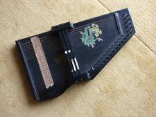 More details for old vintage folk musical music instrument string table harp zither autoharp box