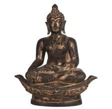 Thailand 19./ 20. Jh. Großer - An Antique Thai Lacquered Gilt Bronze Buddha