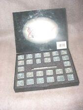 "Vintage Craftool Co Alphabet Set Leather Stamps: 3/4""  Rare"