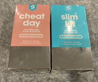 Lot 2 Sculpt Cheat Day Slim Kit Natural Weight Loss Calorie carb BLOCK CLEANSE