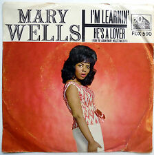 MARY WELLS 45 I'm Learnin' / He's A Lover SOUL 1965 e835