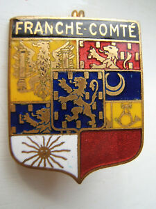 Insigne Militaire FRANCHE COMTE Emaillée