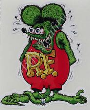 RAT FINK  -- DECAL STICKER.    Z018  --