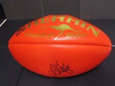 Hawthorn : Luke Hodge signed Red Sherrin football (Gold Embossed)