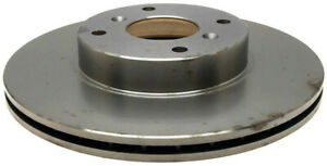Disc Brake Rotor-Non-Coated Front ACDelco 18A1357A
