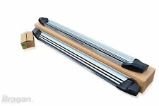 To Fit 2005 - 2015 Mitsubishi L200 Aluminium Side Running Boards Bars Steps