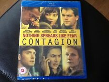 CONTAGION . Matt Damon , Kate Winslet . Jude Law .  Blu Ray . NEW SEALED .