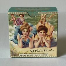 """Girl Friends"" Shea Butter Soap, Made in England, 3.5 Ounces"