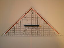 M+R Zeichendreieck 32 cm m. Griff Facette Tuschekante 2332 Geodreieck NEU&OVP