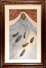 "Frank Howell ""Ghost Dancer"" Signed & Numbered Lithograph Framed Art, 1985, OBO!"