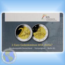 """2 Euro DEUTSCHLAND 2018 """" Berlin - Schloss Charlottenburg """" orig. Coincard - A"""