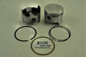 ITM RY6493-020 Set of 4 Engine Pistons W/Rings