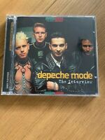 DEPECHE MODE THE INTERVIEW CD talking music NM