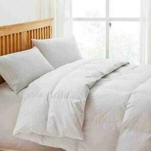 GOOSE DOWN DUVET Soft Anti Allergy 85% Feather & 15% Down Quilt Tog 10.5 / 13.5