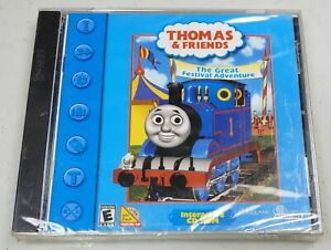 Thomas & Friends: The Great Festival Adventure - Windows/PC Computer CD-ROM Game