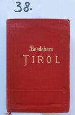 Baedeker Tirol 1926 (W.)