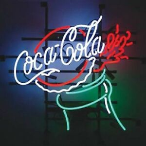 """Coca Cola Coke 17""""x14"""" Neon Sign Lamp Light Beer With Dimmer"""