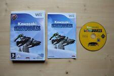 Wii - Kawasaki Snowmobiles - (OVP, mit Anleitung)