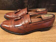 Allen Edmonds BRADENTON Loafers Size 10 A Leather Fringe Tassel Dress Shoe (a2