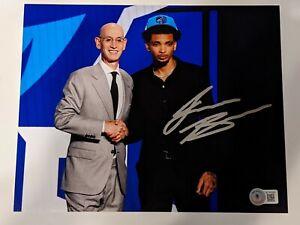 James Bouknight Signed Autographed 8x10 Draft Photo Hornets UConn Beckett BAS