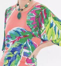 Chico's Size 2~Lg Tropical Tempo Kimono Sleeve Shirt NWT Retail $65