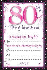 Birthday Adult Invitation Cards