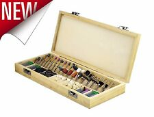 228 Piece Dremel Rotary Tool Accessories Kit Grinding Stone Wooden Polishing Set