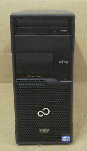 Fujitsu Primergy TX100 S3p Tower Server i3-3220 3.3GHz 2GB Ram 500GB HDD DVD ROM