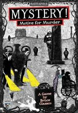 Mayfair Games Mystery Motive for Murder Card Game