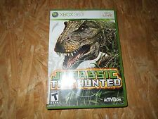 Jurassic: The Hunted (Microsoft Xbox 360, 2009) *****VG*****NO MANUAL*****