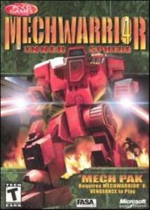 MechWarrior 4: Inner Sphere Mech Pak PC CD robot war combat sim game add-on maps