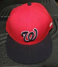 Washington NATIONALS MLB Alternate 2 Blue Red New Era 59FIFTY / Fitted Cap 7 1/2