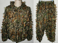 Realtree Camo Hunting Leaf Net Ghillie Suit Jacket And Trousers - MH010