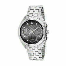 Bulova 96A186 Curv Chronograph Men's Watch - Silver