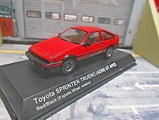 TOYOTA Corolla AE86 Sprinter Trueno GT Sport Coupe rot red Kyosho RAR 1:43