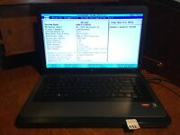 HP 2000 Notebook Laptop AMD E-350 @ 1.6GHz and 2GB - No HDD, OS, Battery (M1)