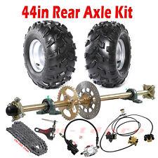 "44"" Go Kart Rear Live Axle Brake Assembly 7"" 8"" 10"" Wheels Rim Hub ATV Cart DIY"