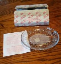 Princess House Fantasia Soap Dish NEW in Box lot#16